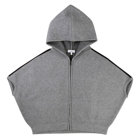 Hooded Knit Jacket Teens, ${color}