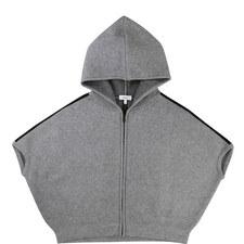 Hooded Knit Jacket Teens