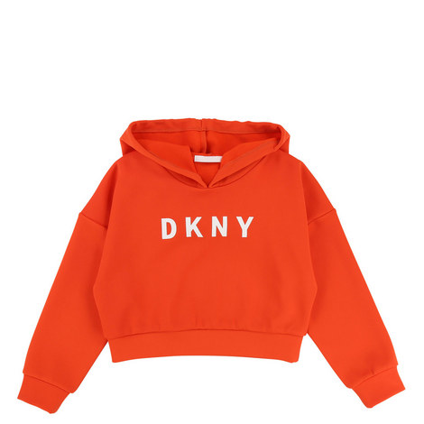 Logo Cropped Hoodie, ${color}