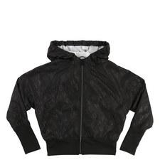 Hooded Windbreaker Jacket Kids