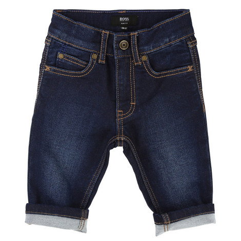 Dark Wash Jeans Toddlers, ${color}