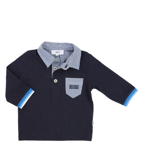 Patch Pocket Polo Shirt Baby, ${color}