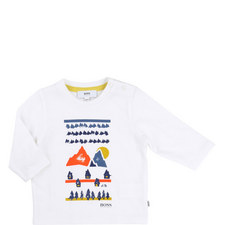 Print Long Sleeve T-Shirt Baby