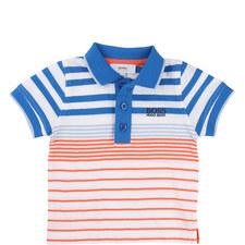 Logo Piqué Polo Baby