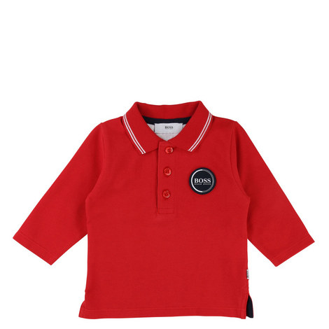 Patch Polo Shirt Toddlers, ${color}