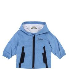Zipped Hooded Jacket Baby