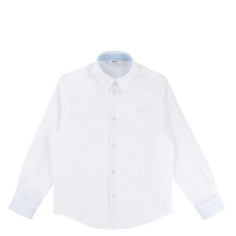Plain Cotton Shirt Teens, ${color}