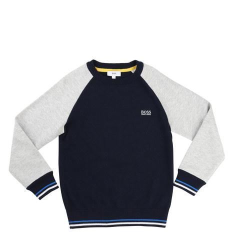 Raglan Sleeve Sweatshirt Kids, ${color}