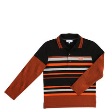 Multi Stripe Polo Shirt Teen