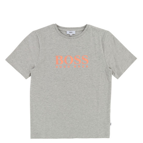 Contrast Logo T-Shirt Teen, ${color}