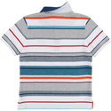 Striped Piqué Polo, ${color}