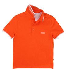 Stripe Tipped Polo Shirt Teen