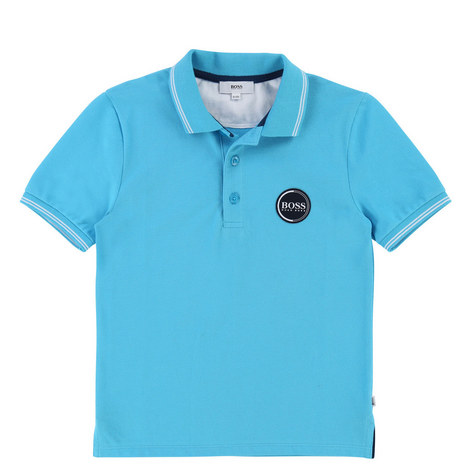 Circle Logo Polo Shirt Teen, ${color}