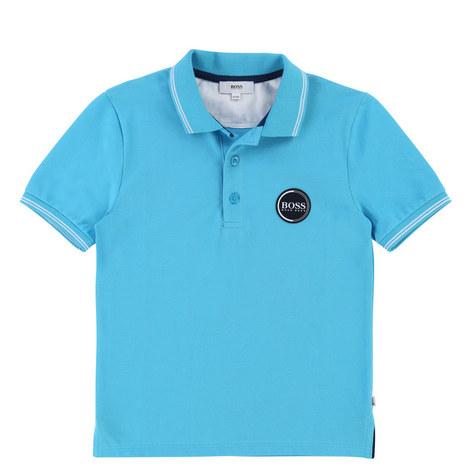 Circle Logo Polo Shirt Teen, ${color}