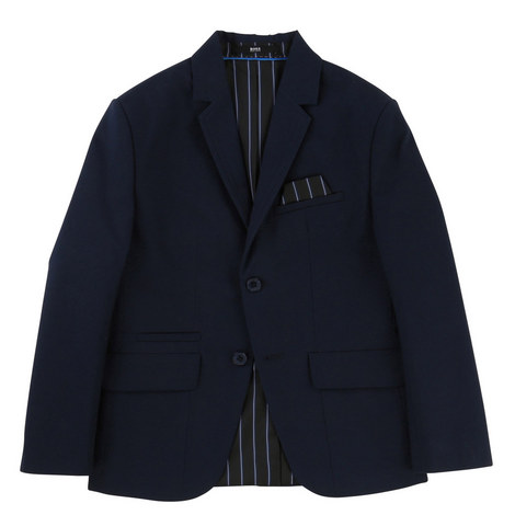 Single Breasted Blazer Teens, ${color}
