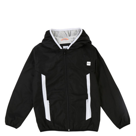 Zip-Through Hooded Jacket, ${color}