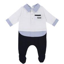 Polo Shirt Romper Baby