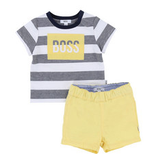 Tee and Shorts Romper Baby