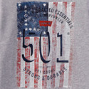 Flag Print Long Sleeve T-Shirt Teens, ${color}
