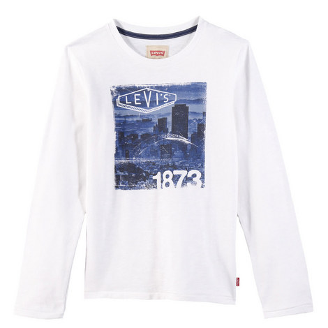 City Skyline Print T-Shirt Kids, ${color}