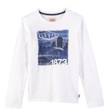 City Skyline Print T-Shirt Teens
