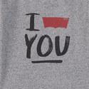 Slogan Marl T-Shirt Kids, ${color}