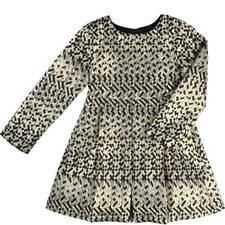 Geometric Jacquard Dress Teen