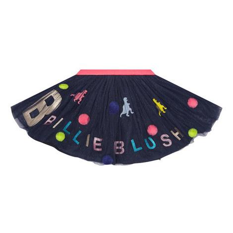 Pom Pom Tutu Skirt Kids, ${color}