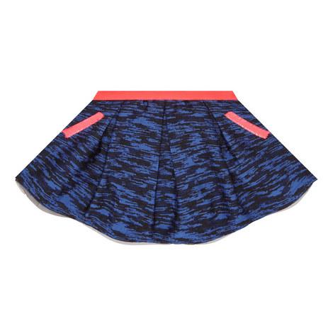 Tiger Jacquard Skirt Kids, ${color}