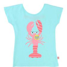 Lobster Print T-Shirt Kids