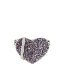 Glitter Heart Bag