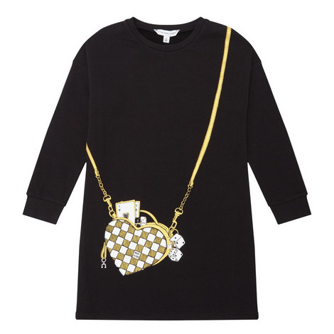 Bag Print Dress, ${color}