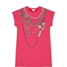 Chain Print Dress Kids