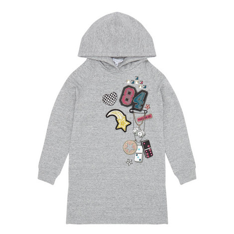 Hooded Sweater Dress Kids - 4-10 Years, ${color}