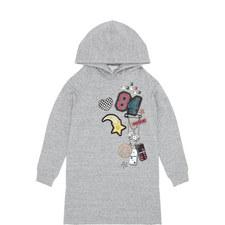Hooded Sweater Dress Kids - 4-10 Years