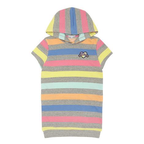 Stripe Hooded Dress, ${color}