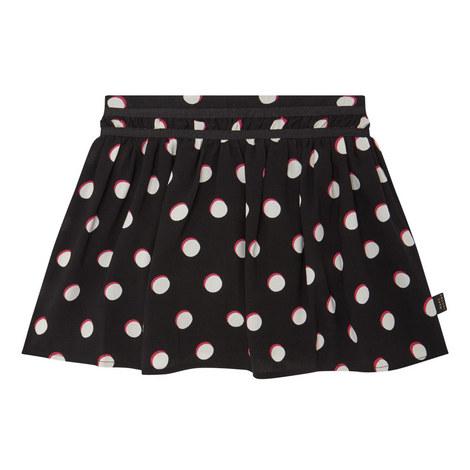 Spot Print Skirt, ${color}