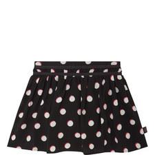 Spot Print Skirt Kids