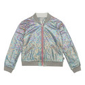 Iridescent Bomber Jacket Kids, ${color}
