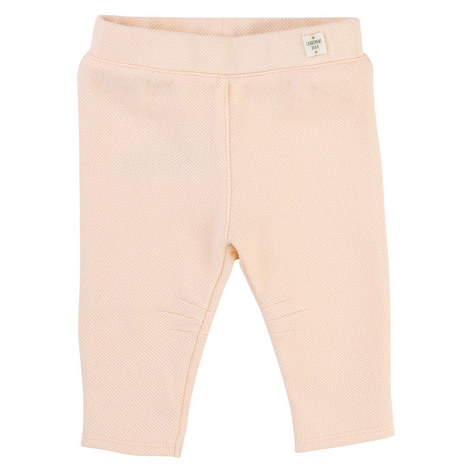 Waffle Texture Trousers Baby, ${color}