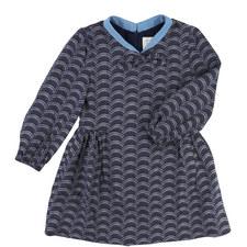 Scallop Print Dress Toddler