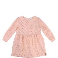 Metallic Dotty Dress Toddler