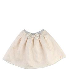 Tulle Jacquard Skirt Kids