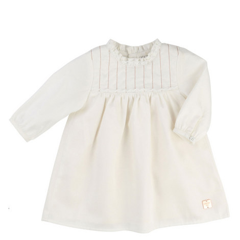 Ruffle Collar Dress Baby, ${color}