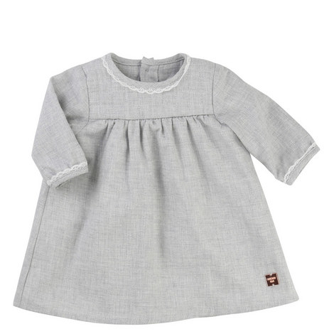 Lace Flannel Dress Baby, ${color}