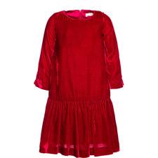 Velvet Drop Waist Dress Kids