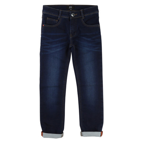 Dark Wash Jeans Kids, ${color}