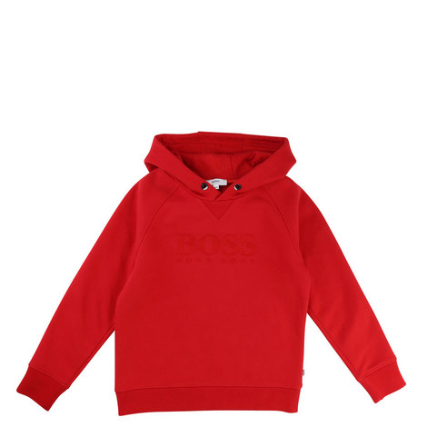 Drawstring Hooded Sweatshirt Teens, ${color}
