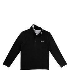 Long Sleeve Polo T-Shirt Teens