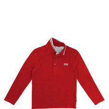 Long Sleeve Polo T-Shirt Kids